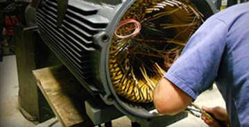 Rewinding and Servicing Motors